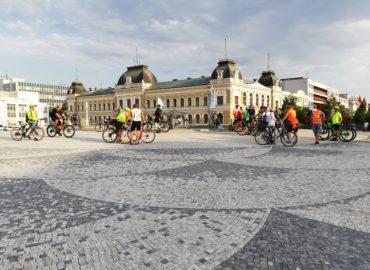 Cyklojazda na oslavu Saganovho siedmeho zeleného dresu