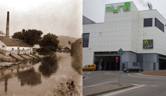 Nitra včera a dnes: Mlyny