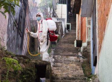 V Nitre vydezinfikovali frekventované verejné priestory