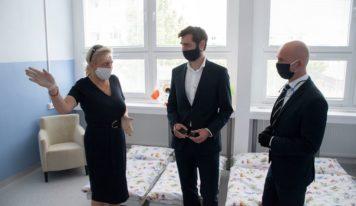 Kontrolu nitrianskych škôl vykonal sám minister Gröhling