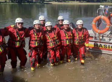 Nitrianski hasiči vymenili horiace výcvikové pole za vodnú plochu