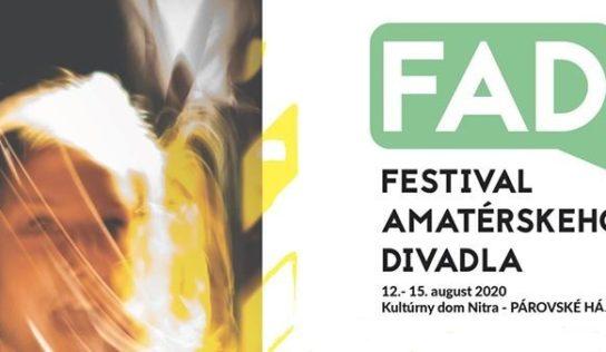 Prebiehajúce leto spríjemní Festival amatérskeho divadla