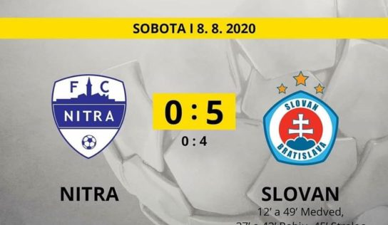 FC Nitra – ŠK Slovan Bratislava