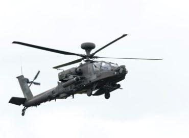 V Nitre pre zlé počasie neplánovane pristál vrtuľník americkej armády