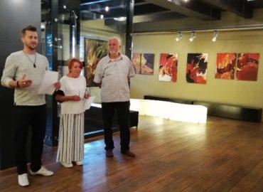Staré divadlo Karola Spišáka v Nitre predstavuje výtvarné dielo Fera Palušku