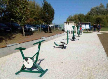 Nové fitness stroje v Krškanoch