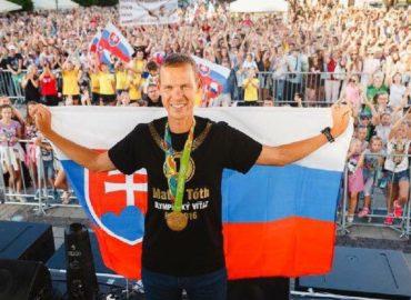 Športovec Matej Tóth sa dostal medzi trojicu najlepších chodcov sveta
