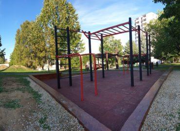 Klokočina má novovybudované street workoutové ihrisko