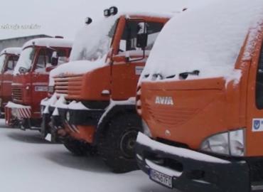 Cesty sú pripravené na zimnú údržbu