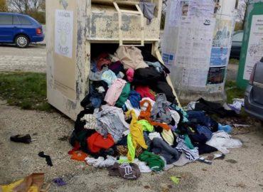 Problémové kontajnery na šatstvo možno premiestnia. Kde ešte môžete odovzdať oblečenie?