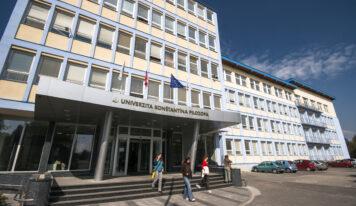 UKF organizuje očkovanie na pôde univerzity, rektor vyzval na účasť