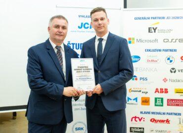 Miroslav Čibik, absolvent SPU, získal cenu Študentská osobnosť Slovenska