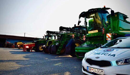 V Nitrianskom kraji sa rozmáhajú krádeže GPS zariadení z traktorov