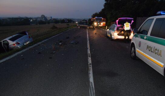 Podnapití vodiči v Nitrianskom kraji počas víkendu spôsobili niekoľko dopravných nehôd