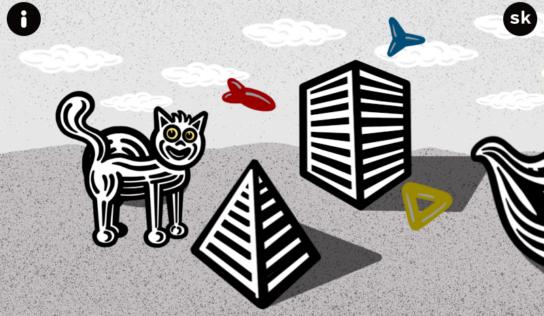 Online expozícia Nitrianskej galérie: O psíčkovi a mačičke