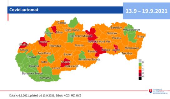 Okres Nitra prechádza od budúceho pondelka do stupňa ostražitosti