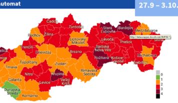 Od 27. septembra sa medzi červené okresy zaradí aj Nitra