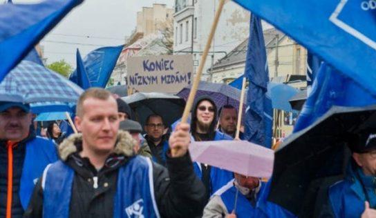 Ďalší protest odborárov v Nitre