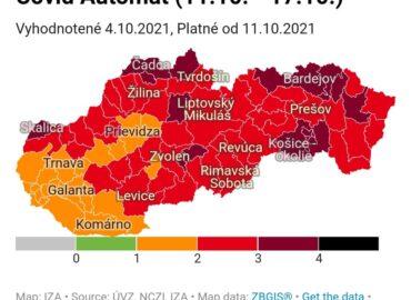 COVID automat: Ako bude od pondelka vyzerať Nitriansky kraj?